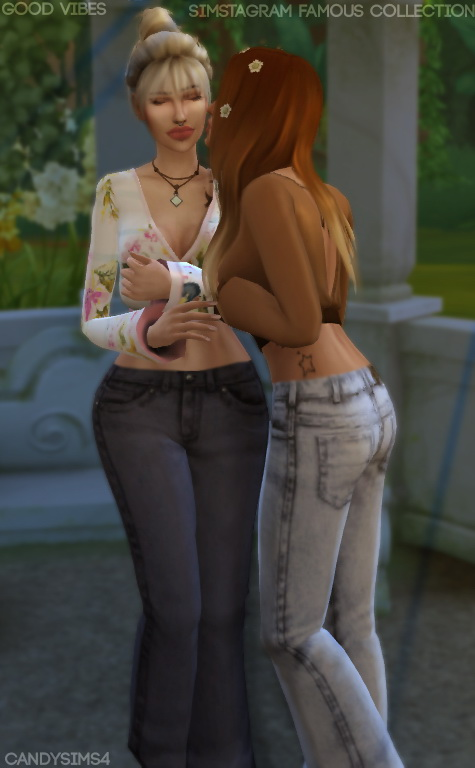SIMSTAGRAM FAMOUS COLLECTION LOOK 2 GOOD VIBES at Candy