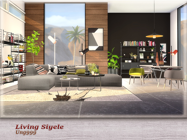 Living Siyele by ung999 at TSR image 2402 Sims 4 Updates