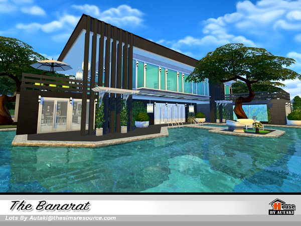 The Banarat house by autaki at TSR image 2411 Sims 4 Updates