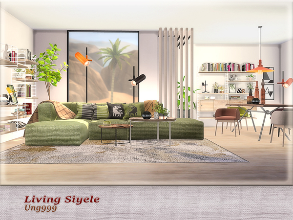 Living Siyele by ung999 at TSR image 24110 Sims 4 Updates