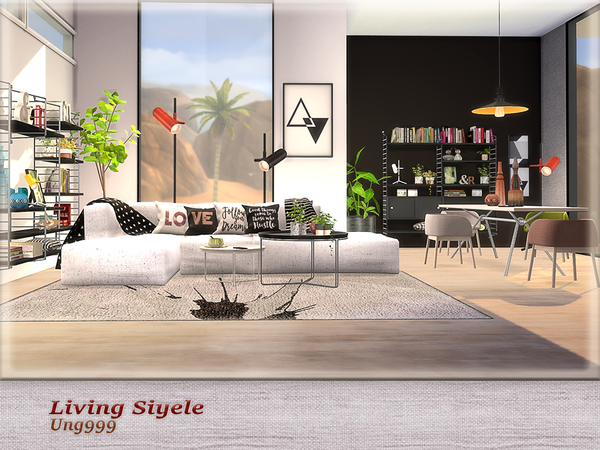 Living Siyele by ung999 at TSR image 2423 Sims 4 Updates