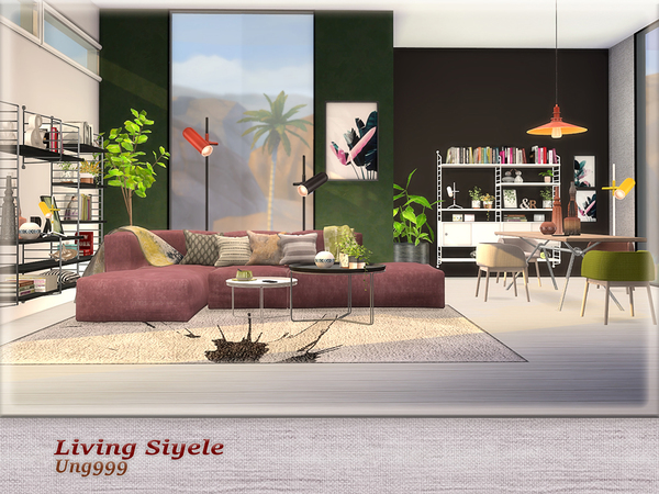 Living Siyele by ung999 at TSR image 2431 Sims 4 Updates