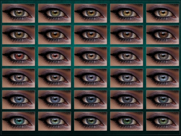 Extinction Eyes by RemusSirion at TSR image 244 Sims 4 Updates