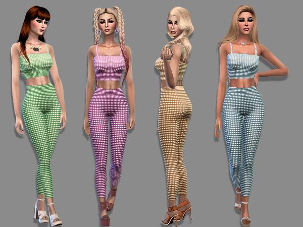 Sims 4 Vero outfit by Simalicious at TSR
