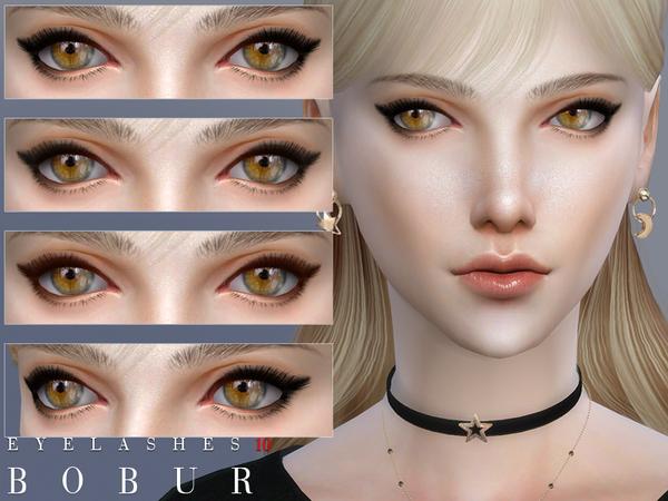 Eyelashes 10 by Bobur3 at TSR image 251 Sims 4 Updates
