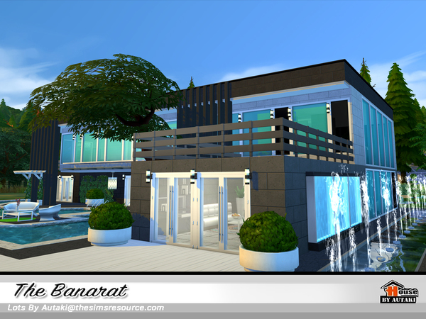 The Banarat house by autaki at TSR image 2510 Sims 4 Updates