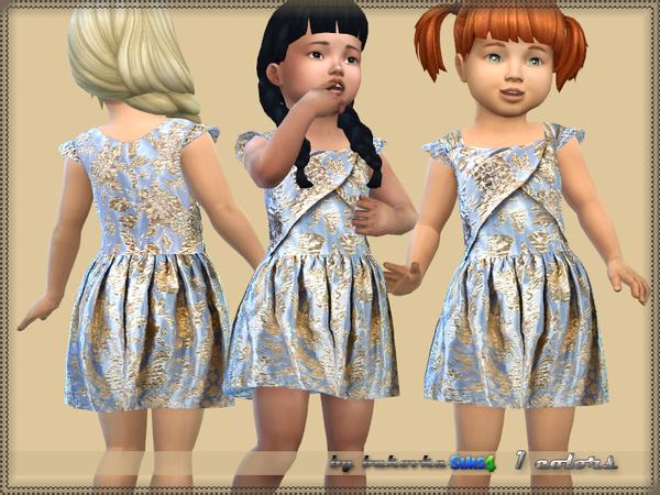 Sims 4 Summer Dress by bukovka at TSR