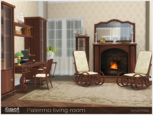 Palermo living room by Severinka at TSR image 2619 Sims 4 Updates