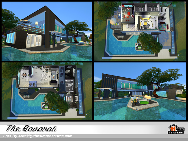 The Banarat house by autaki at TSR image 2710 Sims 4 Updates