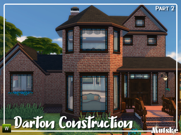 Sims 4 Darton Construction set Part 2 by mutske at TSR