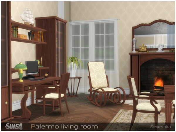 Palermo living room by Severinka at TSR image 2719 Sims 4 Updates