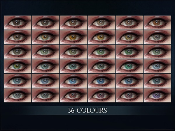 Sims 4 Tandem Eyes DEFAULT REPLACEMENT by RemusSirion at TSR