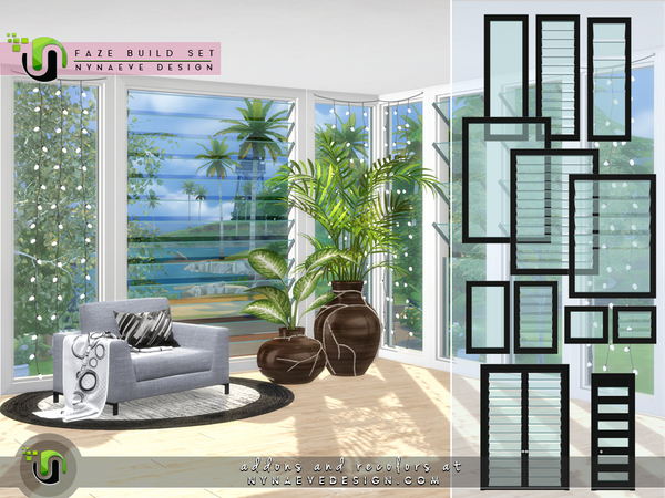 Faze Build Set by NynaeveDesign at TSR image 2818 Sims 4 Updates