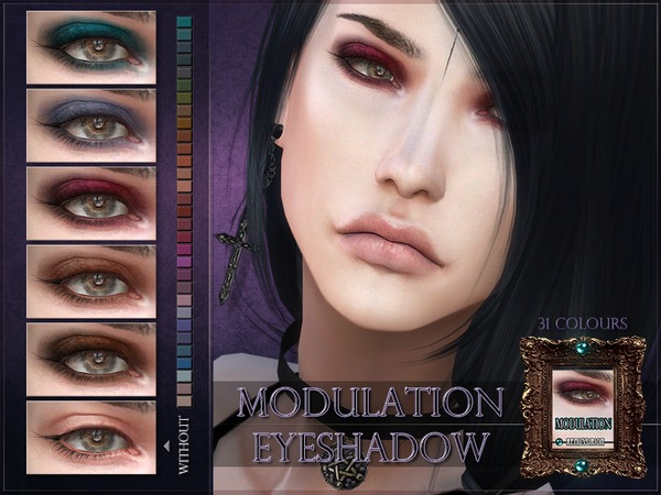 Modulation Eyeshadow by RemusSirion at TSR image 2820 Sims 4 Updates