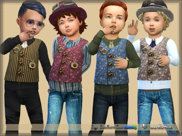 Sims 4 Steampunk Top by bukovka at TSR