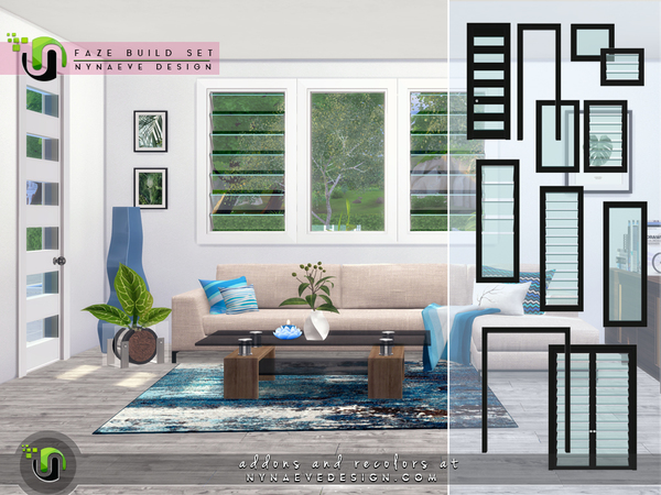 Faze Build Set by NynaeveDesign at TSR image 2916 Sims 4 Updates
