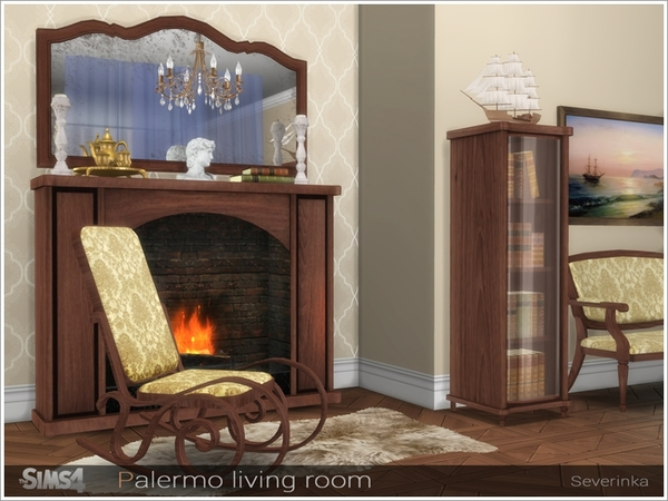 Palermo living room by Severinka at TSR image 2917 Sims 4 Updates