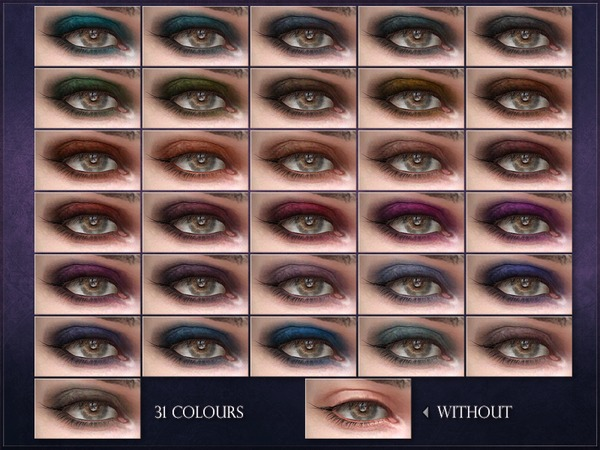 Sims 4 Modulation Eyeshadow by RemusSirion at TSR