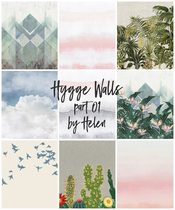 Sims 4 Hygge Walls part 01 at Helen Sims