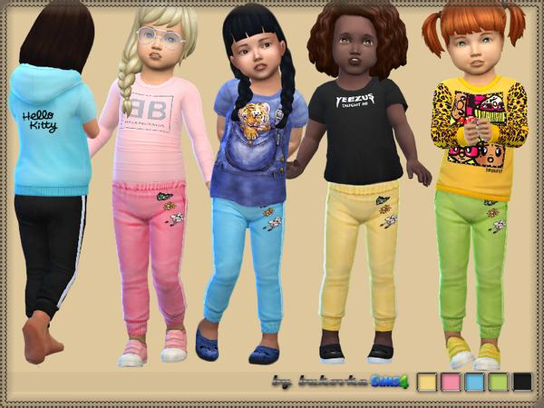 Sims 4 Pants & Rhinestone by bukovka at TSR