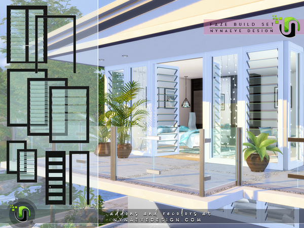 Faze Build Set by NynaeveDesign at TSR image 3017 Sims 4 Updates
