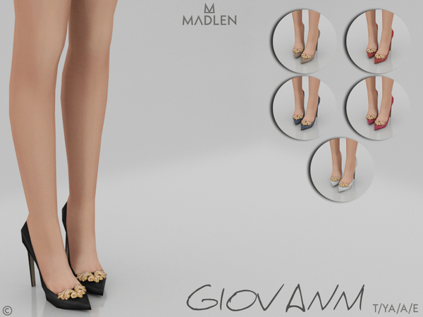 Madlen Giovanni Shoes by MJ95 at TSR image 309 Sims 4 Updates