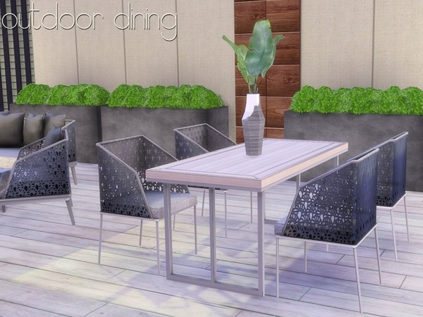 Rasta Outdoor Set by Nikadema at TSR image 3100 Sims 4 Updates