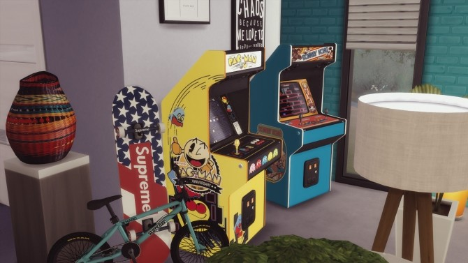 Two arcade cabinets (decorative) by Pumpk1in at Mod The Sims image 3116 670x377 Sims 4 Updates