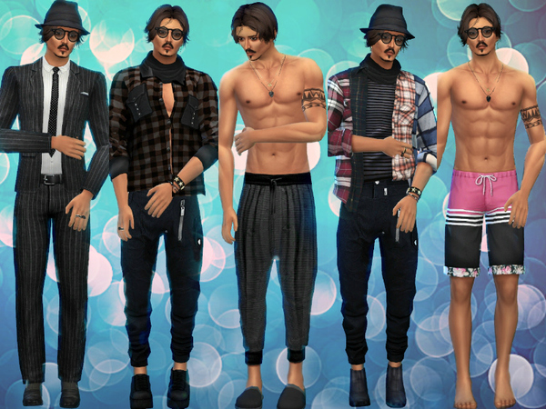 Johnny Depp by Jolea at TSR image 320 Sims 4 Updates