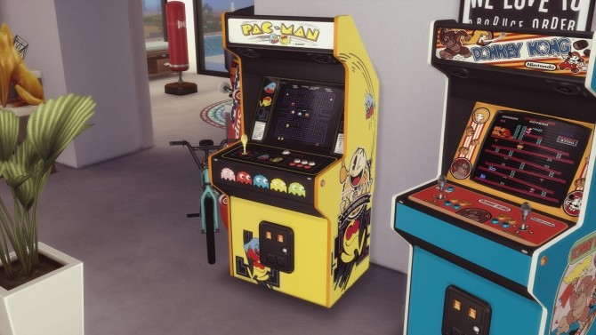Two arcade cabinets (decorative) by Pumpk1in at Mod The Sims image 3214 670x377 Sims 4 Updates