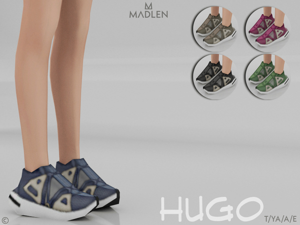 Sims 4 Madlen Hugo Shoes by MJ95 at TSR