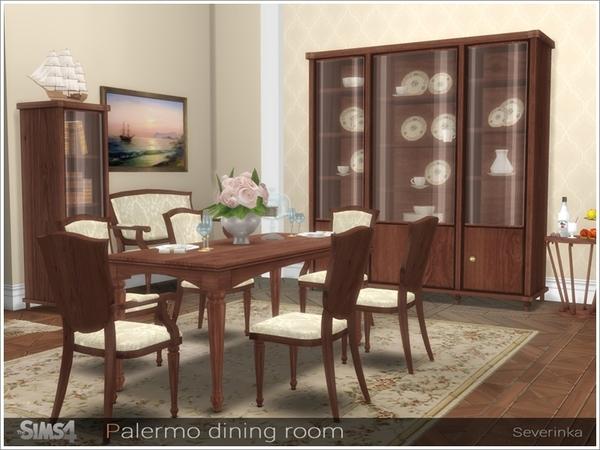 Sims 4 Palermo dining room by Severinka at TSR