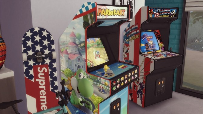 Two arcade cabinets (decorative) by Pumpk1in at Mod The Sims image 3313 670x377 Sims 4 Updates