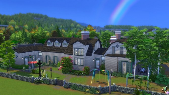 Sims 4 Greenhouse Manor No CC by Chaosking at Mod The Sims