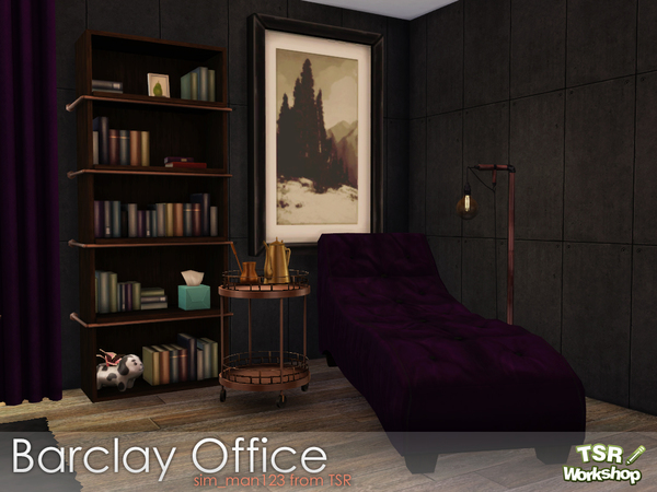 Barclay Office by sim man123 at TSR image 337 Sims 4 Updates