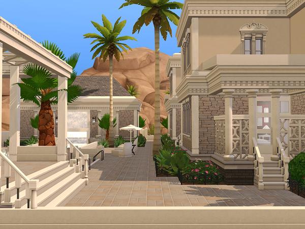 Mediterranean Luxury Estate by pinoe at TSR image 340 Sims 4 Updates