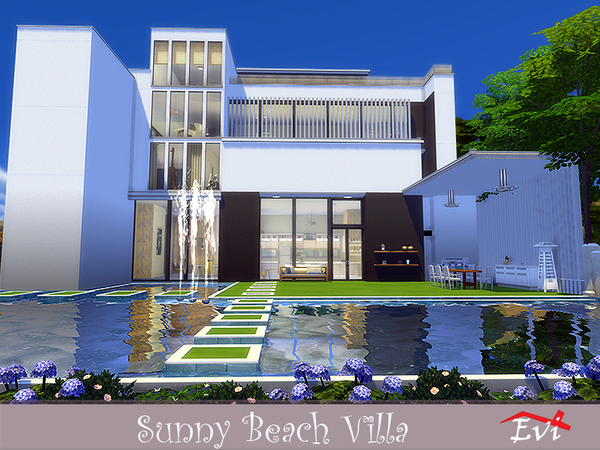 Sunny Beach Villa by evi at TSR image 3411 Sims 4 Updates