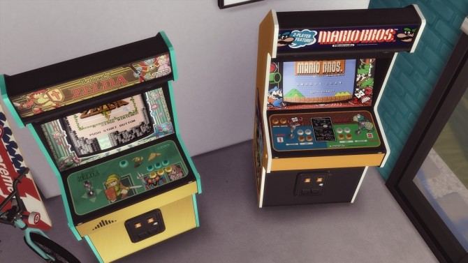 Two arcade cabinets (decorative) by Pumpk1in at Mod The Sims image 3412 670x377 Sims 4 Updates