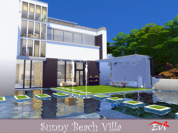 Sunny Beach Villa by evi at TSR image 3511 Sims 4 Updates