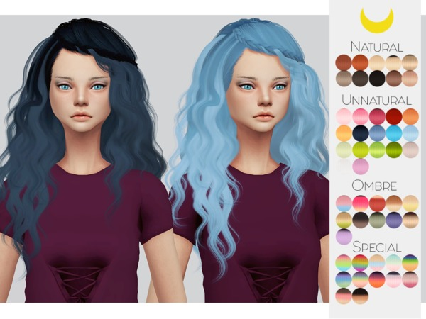 Sims 4 Hair Retexture 78 Stealthics Genesis by Kalewa a at TSR