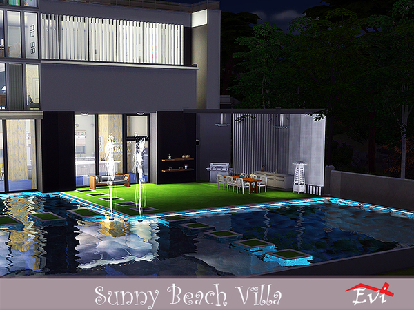 Sunny Beach Villa by evi at TSR image 3610 Sims 4 Updates