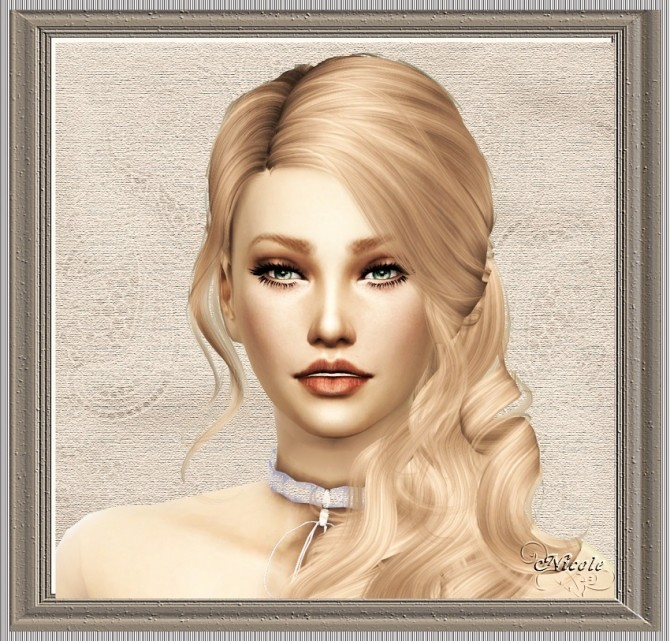 Sims 4 Nicole by Cedric13 at L'univers de Nicole