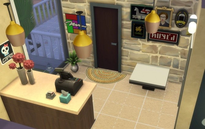 Sims 4 Boutique Art Studio by Alawen at Mod The Sims