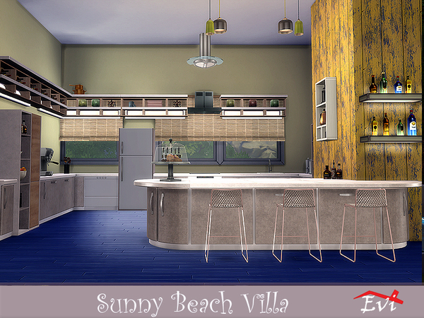 Sunny Beach Villa by evi at TSR image 3711 Sims 4 Updates