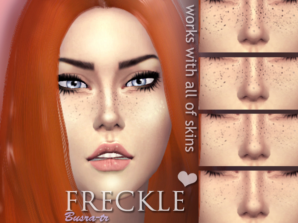 FreckleX by busra tr at TSR image 3720 Sims 4 Updates