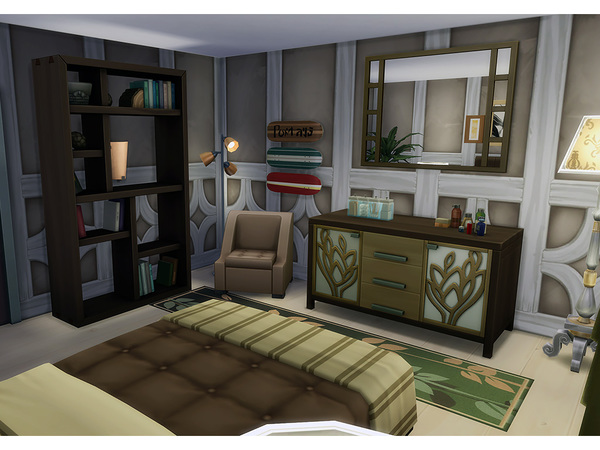 Sims 4 Mayfair home by Degera at TSR