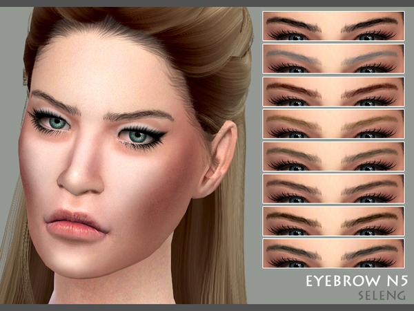 Eyebrows N5 by Seleng at TSR image 378 Sims 4 Updates