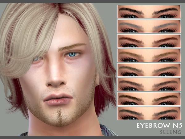 Eyebrows N5 by Seleng at TSR image 388 Sims 4 Updates