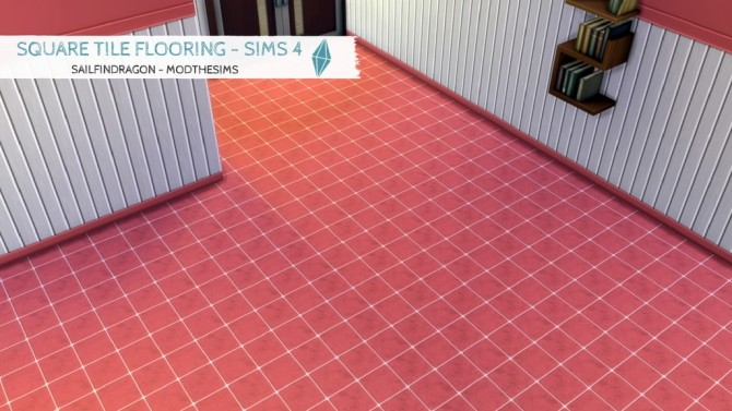 Sims 4 Square Tile Floors by sailfindragon at Mod The Sims