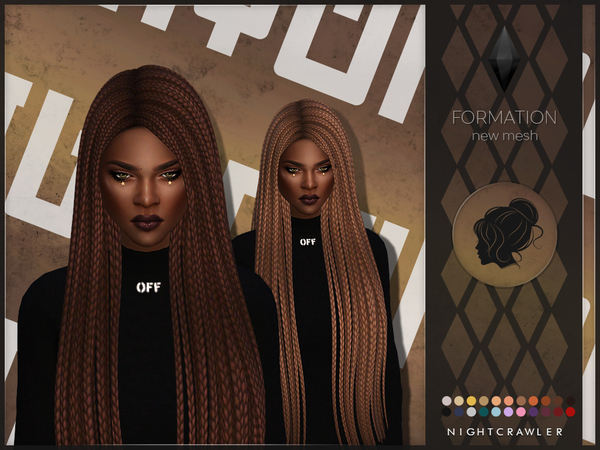 Formation hair by Nightcrawler at TSR image 40 Sims 4 Updates